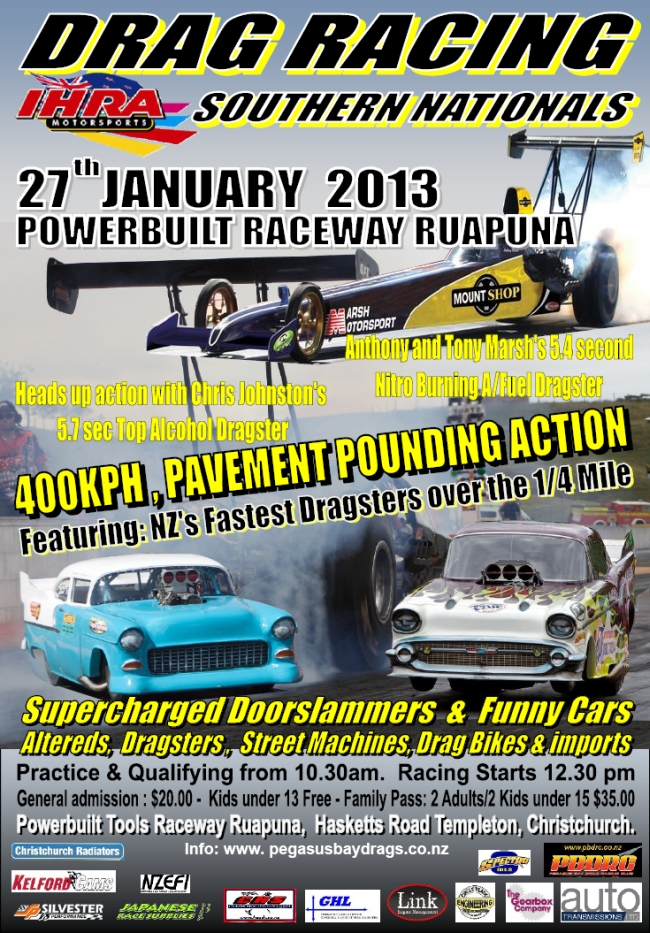 2013 Southern Nationals poster