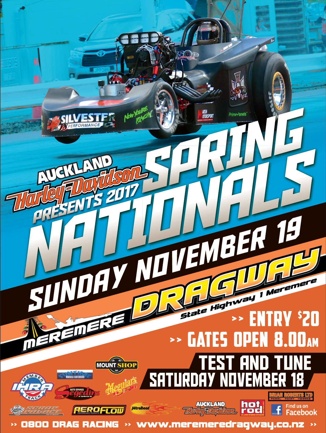 2017 Spring Nationals poster.