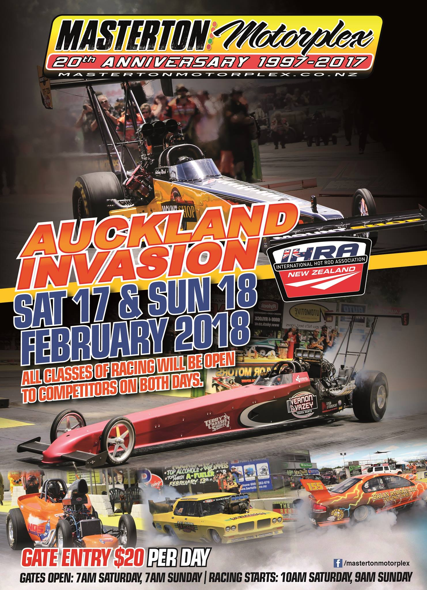 2017/18 National Series Round 4 poster