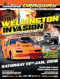 2018 Wellington Invasion poster