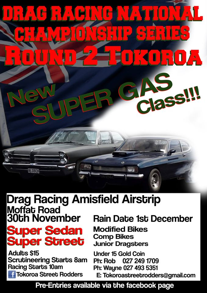 2019 Super Street Nationals Round 2. Amisfield Airstrip, 30 November 2019.