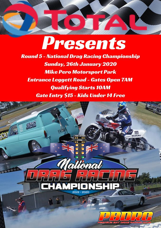 2019/20 National Drag Racing Series Round 5 poster