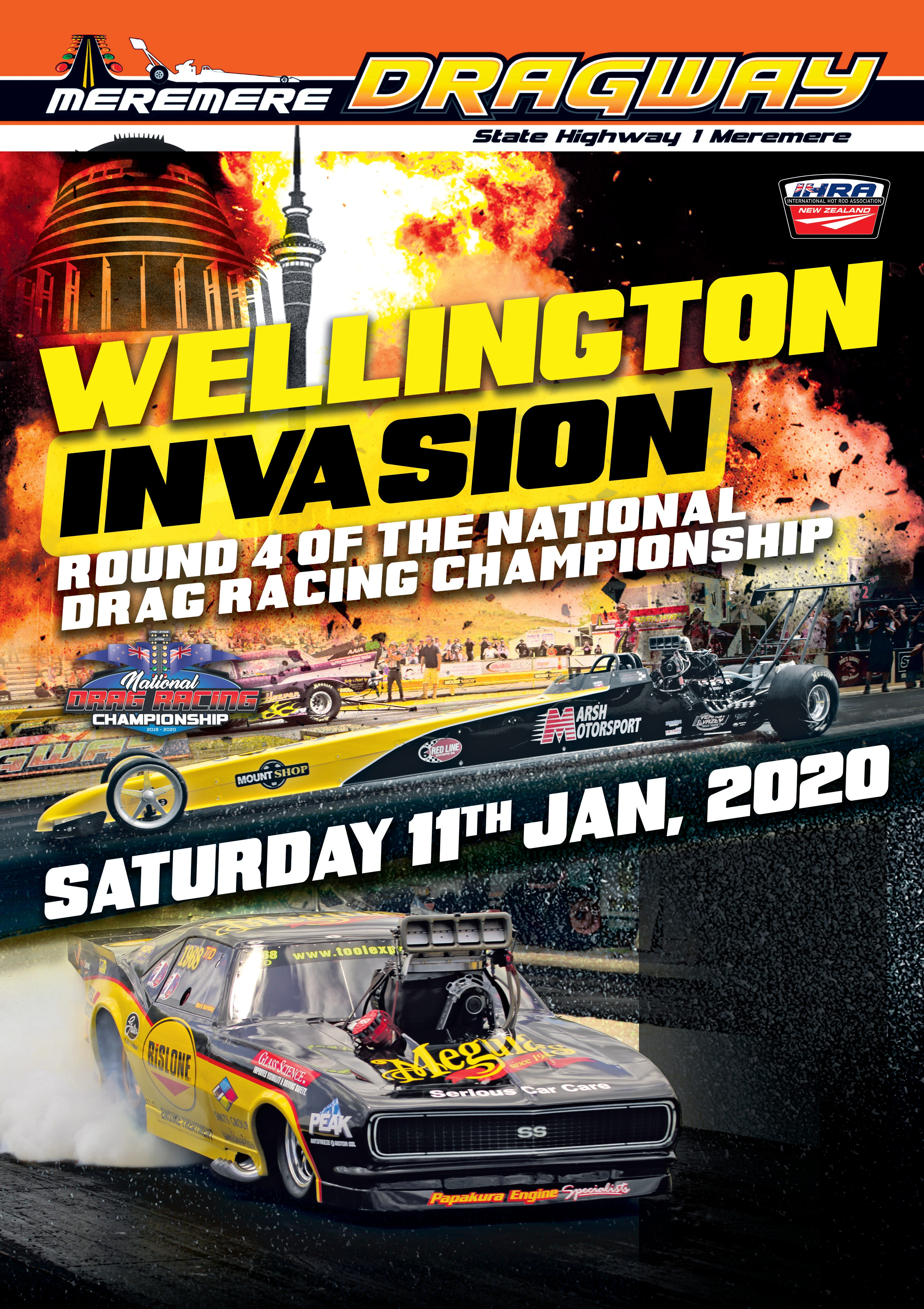 2019/20 National Drag Racing Series Round 4 poster