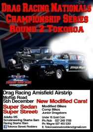 2020/21 National Drag Racing Series Round 2 poster