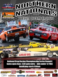 2020/21 National Drag Racing Series. Round 4 poster