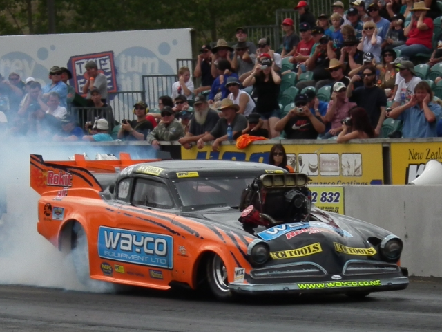 Wayne Yearbury secured his second Nationals win at the IHRA New Zealand Nationals held in Meremere.